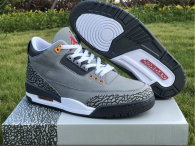 "Authentic Air Jordan 3 ""Cool Grey"""