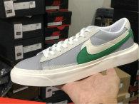 Authentic Nike Blazer Low White/Grey/Green