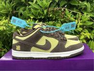 Authentic Nike Dunk Low Brownish Yellow/White Brun Jaune GS