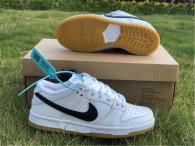 Authentic Nike Dunk Low White/Black/Noir GS