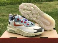 """Travis Scott x Nike Air Max 270 React """"Cactus Trails""""  (KID)"""