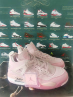 Air Jordan 4 Women Shoes AAA (56)