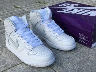 Authentic Nike Dunk High White/Grey/Noir/Gris GS