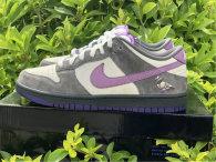Authentic NIKE Dunk SB Low Purple Pigeon GS