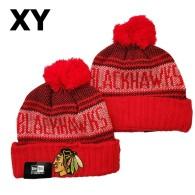 NHL Chicago Blackhawks Beanies (2)