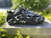 Balenciaga Drive Sneaker Black/Blue/Silver