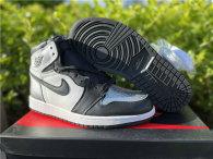 "Authentic Air Jordan 1 High OG WMNS ""Silver Toe"" GS"