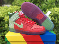 """Authentic Nike SB Dunk High """"Strawberry Cough"""""""