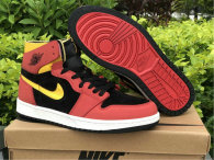"Authentic Air Jordan 1 Zoom Comfort ""Chile Red"""