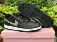 "Authentic Diamond x Nike SB Dunk Low ""Black Diamond"""