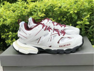 Balenciaga Track Trainers 3.0 Wine Red/White