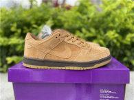 "Authentic Nike SB Dunk Low ""Wheat Mocha"""