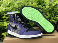 "Authentic Air Jordan 1 Zoom Comfort ""Bayou Boys"""