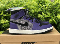 "Authentic Air Jordan 1 Zoom Comfort ""Bayou Boys""  GS"