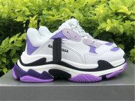 Balenciaga Triple-S White/Purple