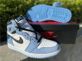 """Authentic Air Jordan 1 High OG """"University Blue""""  (Women sizes)"""