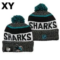 NHL San Jose Sharks Beanies (2)