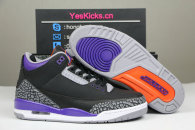 "Authentic Air Jordan 3 ""Court Purple"""