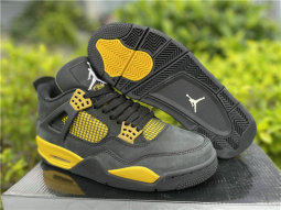 "Authentic Air Jordan 4 ""Thunder"""