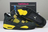 "Authentic Air Jordan 4 ""Thunder"""