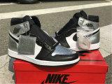 "Authentic Air Jordan 1 High OG WMNS ""Silver Toe"""