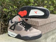 "Authentic Air Jordan 4  GS ""Taupe Haze"""