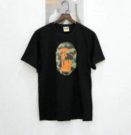 BAPE short round collar T-shirt M-XXL (58)