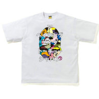 BAPE short round collar T-shirt M-XXL (57)