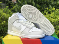 Authentic Slam Jam x Nike Dunk High Peak White/Wolf Grey