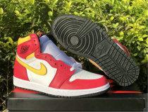 "Authentic Air Jordan 1 High OG ""Light Fusion Red"""
