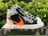 Authentic READYMADE x Nike Blazer Mid Black/Vast Grey-Volt-Total Orange