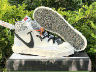Authentic READYMADE x Nike Blazer Mid White/Vast Grey-Volt-Total Orange GS