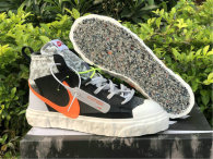 Authentic READYMADE x Nike Blazer Mid Black/Vast Grey-Volt-Total OrangeGS
