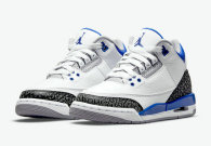 "Authentic Air Jordan 3 ""Racer Blue""(Presell)"