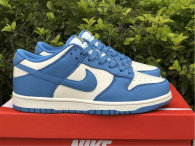 Authentic Nike Dunk Low Sail/Coast-University Gold GS
