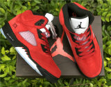 "Authentic Air Jordan 5  ""Raging Bull"" (with wooden boxes)"