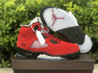 "Authentic Air Jordan 5  ""Raging Bull"""