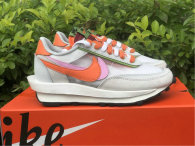 Authentic Sacai x Nike LDV Waffle Grey/Pink/Orange/White/Green (women)