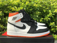 "Authentic Air Jordan 1 High OG GS ""Electro Orange"""