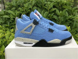 "Authentic Air Jordan 4 SE ""University Blue"""