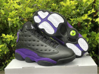 Authentic Air Jordan 13 Black/Purple