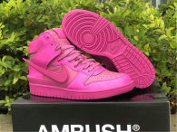 Authentic Ambush x Nike Dunk High Active Fuchsia