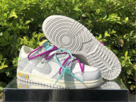 """Authentic Off-White x Nike Dunk Low """"21/50""""  Beige Grey"""