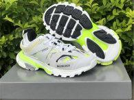 Balenciaga Track Trainers 3.0 White/Grey/Fluorescent Green