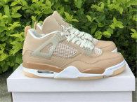 "Authentic Air Jordan 4  ""Shimmer"" (Women)"