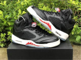 """Authentic Air Jordan 5 """"Black Muslin"""""""