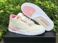 Authentic Air Jordan 3 WMNS Pink Gris/Rose
