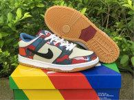 Authentic Parra X Nike SB Dunk Low Royal Blue