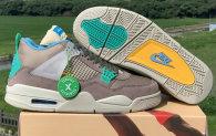 """Union x Air Jordan 4 """"Taupe Haze""""  AAA"""