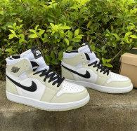 Authentic Air Jordan 1 Zoom Comfort White/Black GS